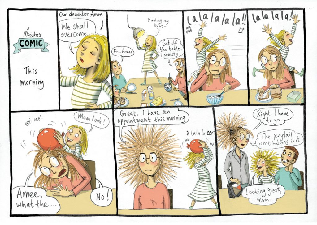 Comic_This-morning at breakfast